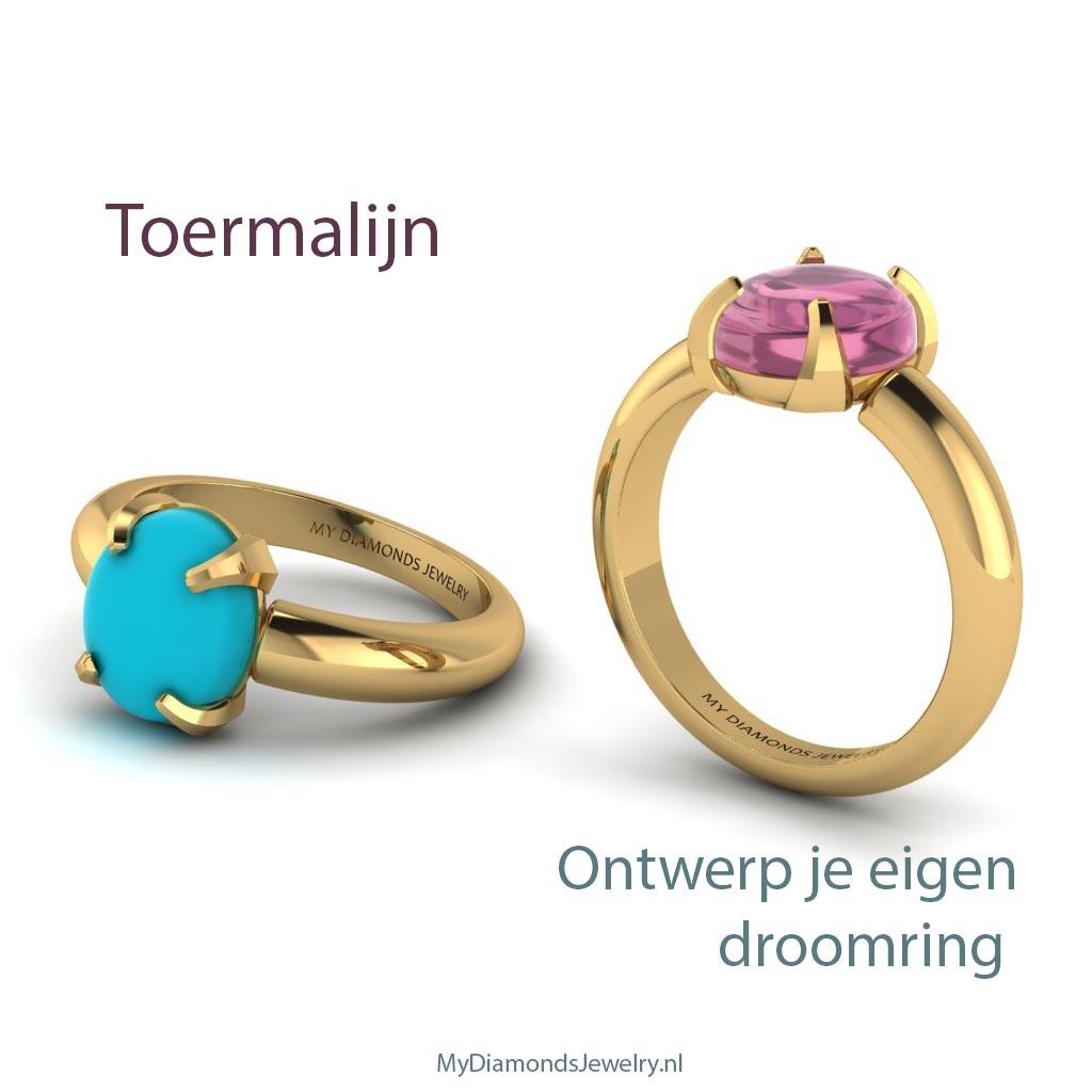 ring-goud-toermalijn-turquise-cabachon-my-diamonds-jewelry